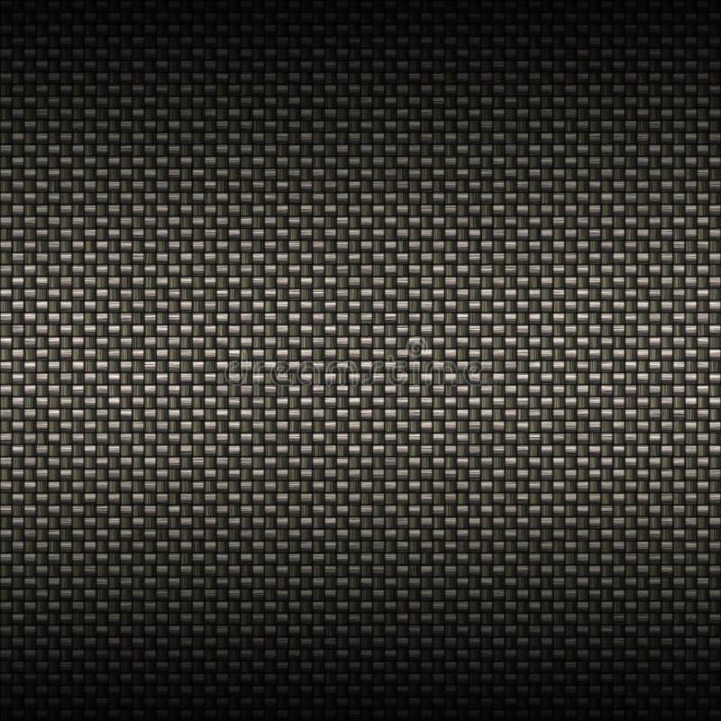 De Textuur van de Vezel van de koolstof stock illustratie