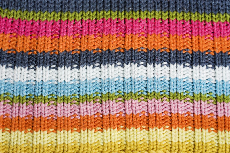 De textuur van de wol. stock fotografie