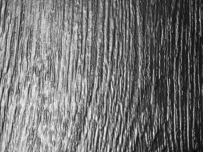 De textuur van een boom met zilver wordt behandeld dat stock afbeelding