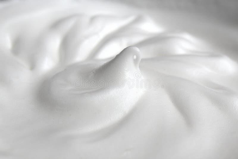 De textuur van eiwit ranselde in een groot schuim royalty-vrije stock fotografie