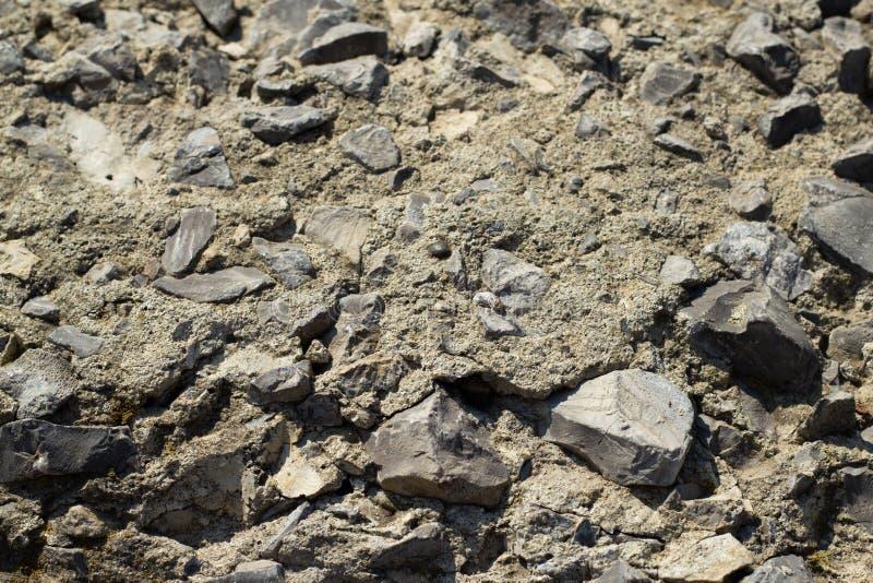 De textuur van grint royalty-vrije stock afbeelding