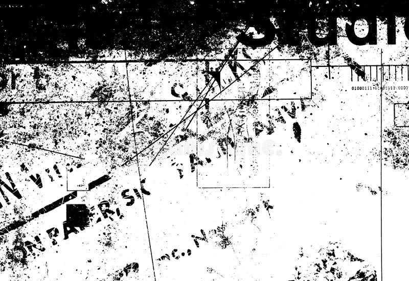 De Textuur van Grunge vector illustratie