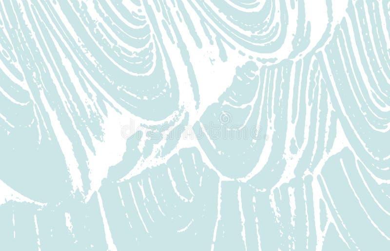 De textuur van Grunge Nood blauw ruw spoor Gewaagde bedelaars vector illustratie
