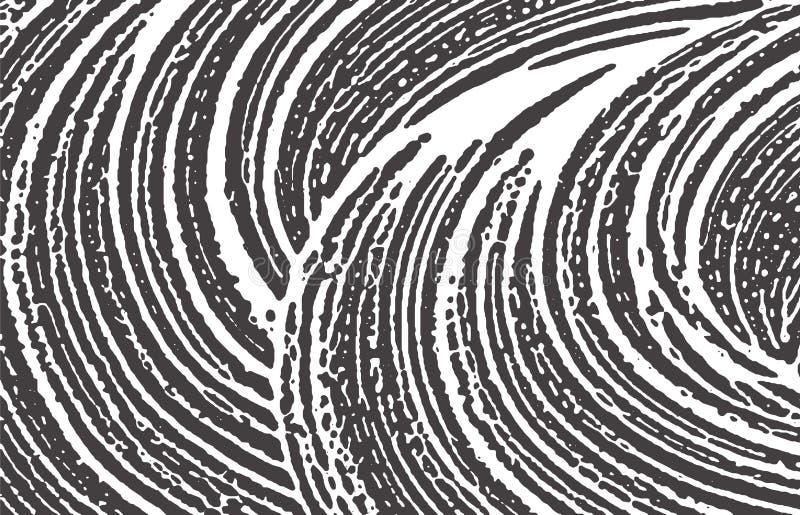 De textuur van Grunge Nood zwart grijs ruw spoor Beauteous achtergrond Textuur van lawaai de vuile grunge N vector illustratie