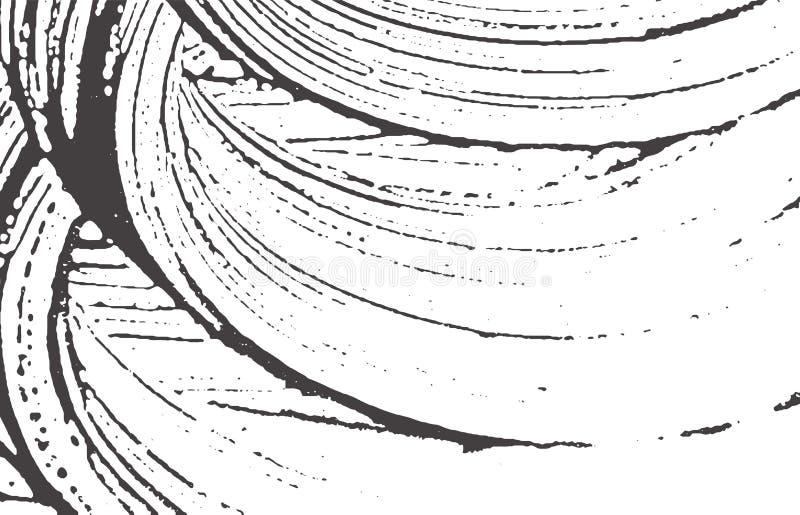 De textuur van Grunge Nood zwart grijs ruw spoor A royalty-vrije illustratie