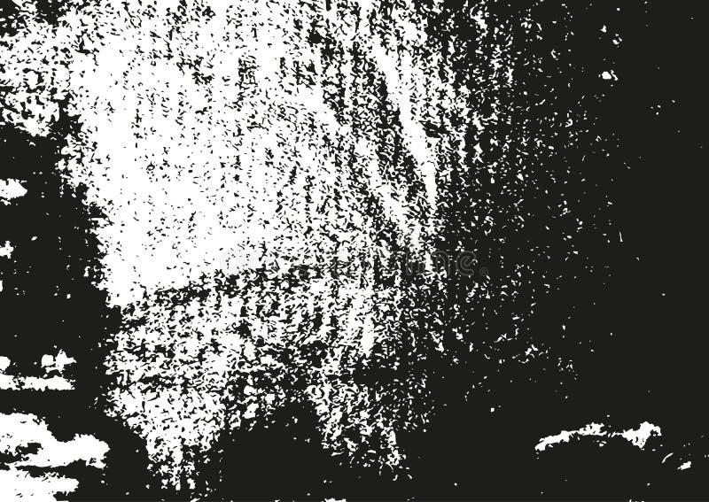 De textuur van Grunge Ruwe achtergrond Vector illustratie vector illustratie