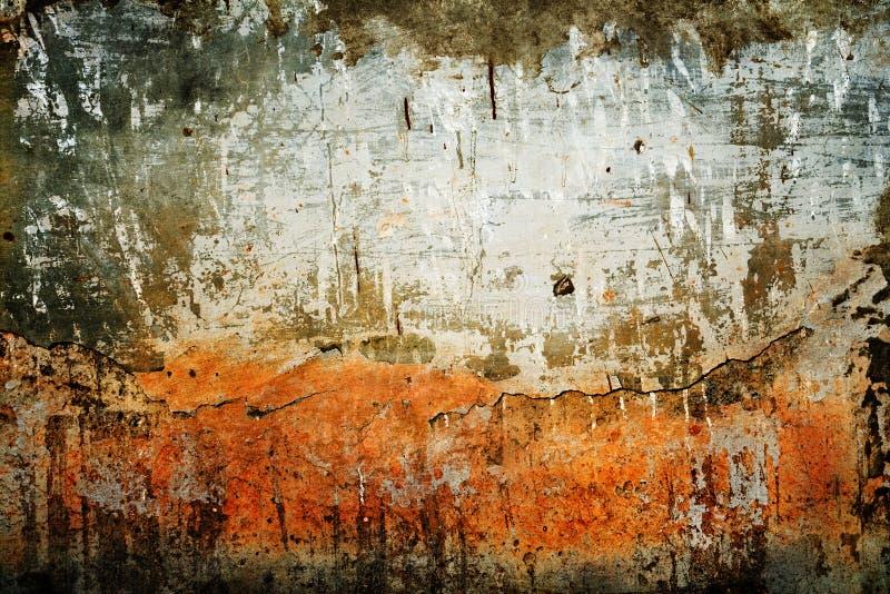 De textuur van Grunge van oude muur stock foto