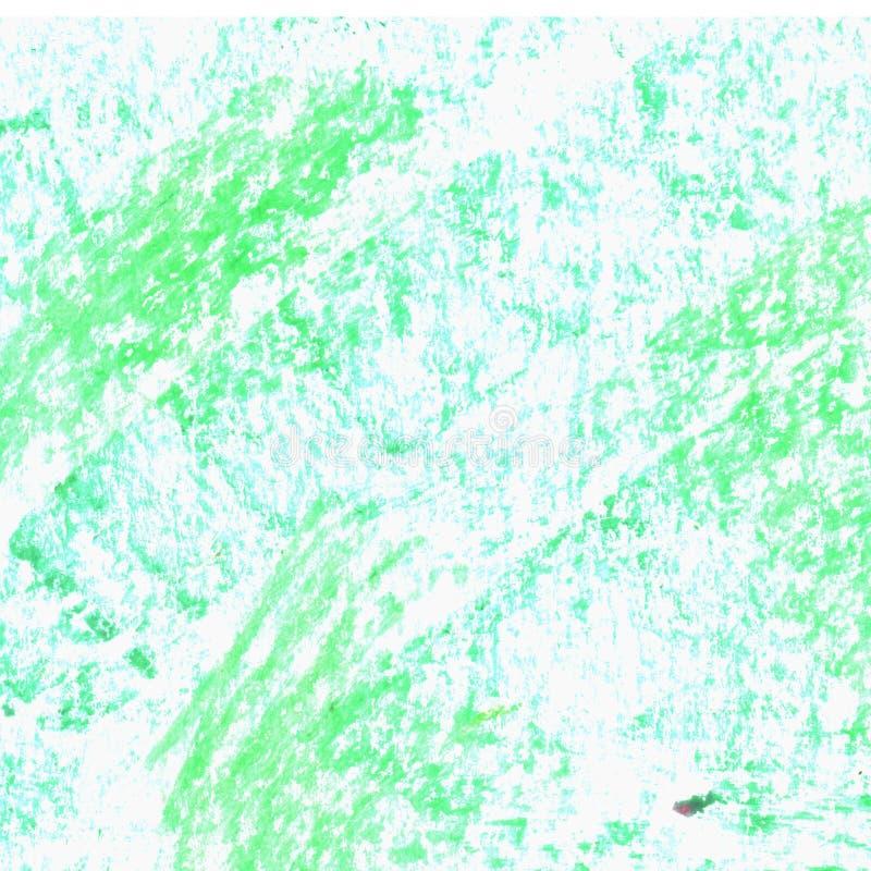 De textuur van Grungeelementen Getrokken pastelkleurhand stock illustratie