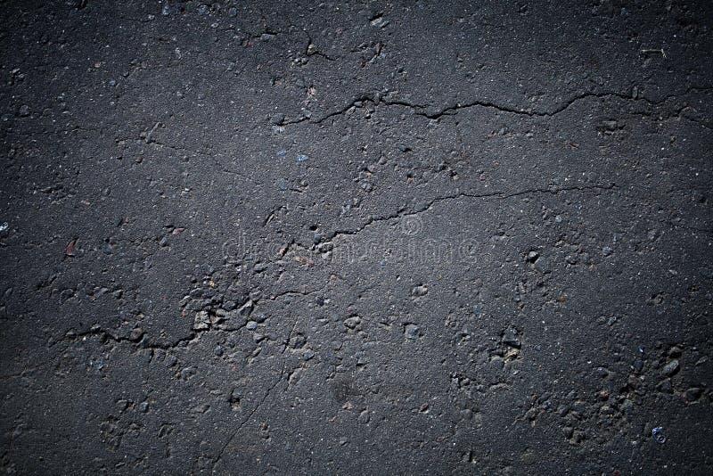 De textuur van het asfalt stock afbeelding