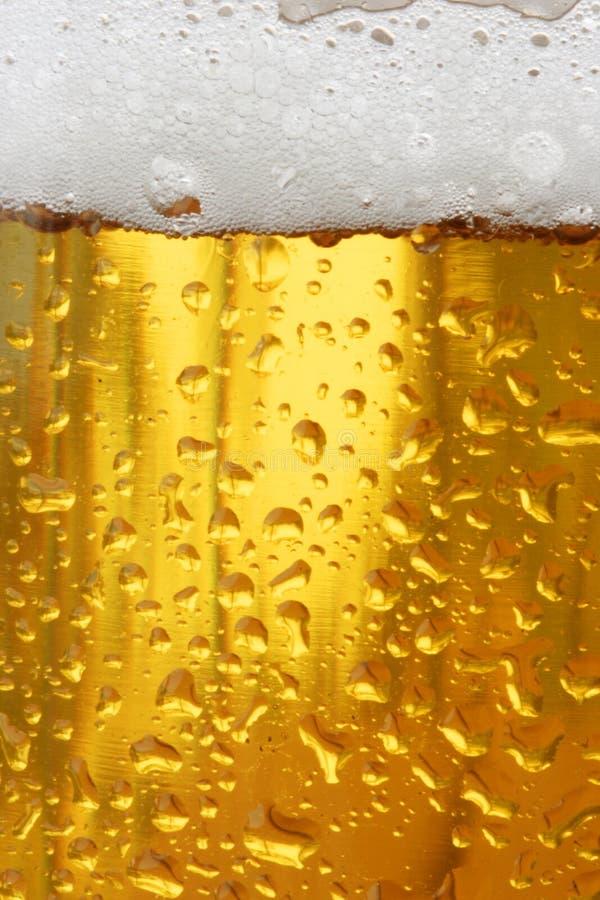 De textuur van het bier