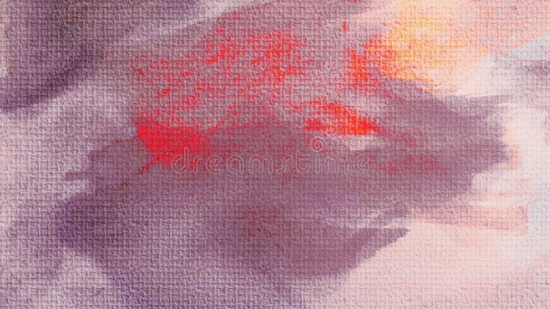 De textuur van het canvas Acrylvervenvlek Creatieve abstracte hand geschilderde achtergrond Acryl het schilderen slagen op canvas royalty-vrije stock fotografie