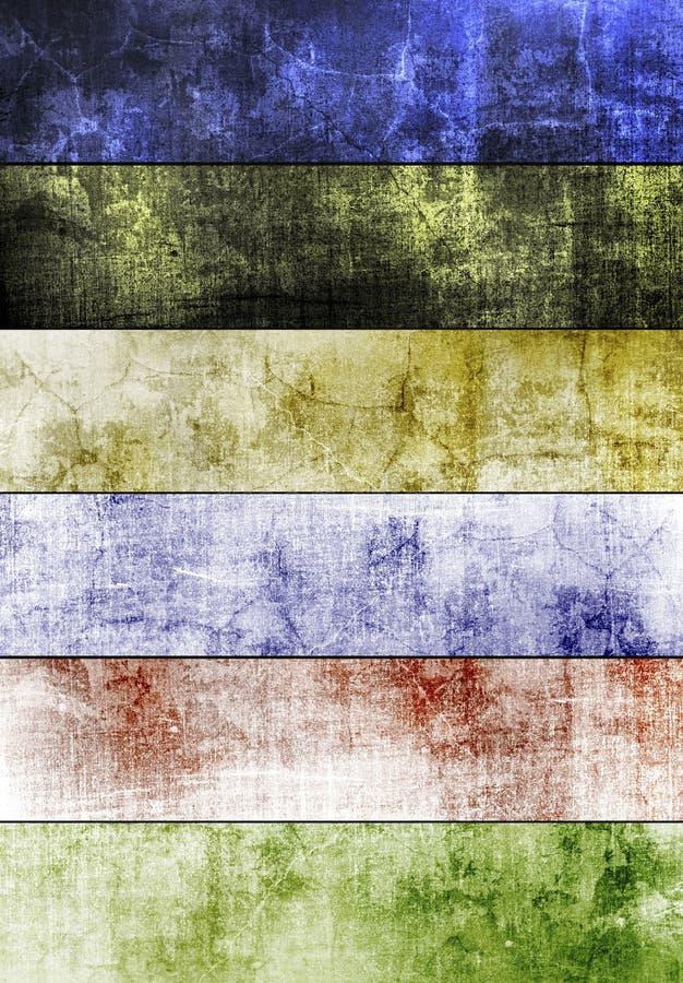 De textuur van het cement stock illustratie