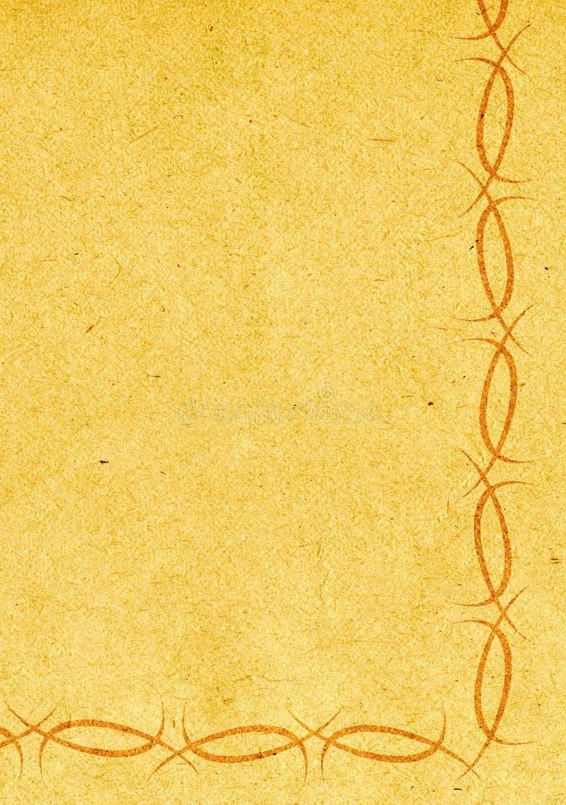 De textuur van het document met patroon 3 vector illustratie
