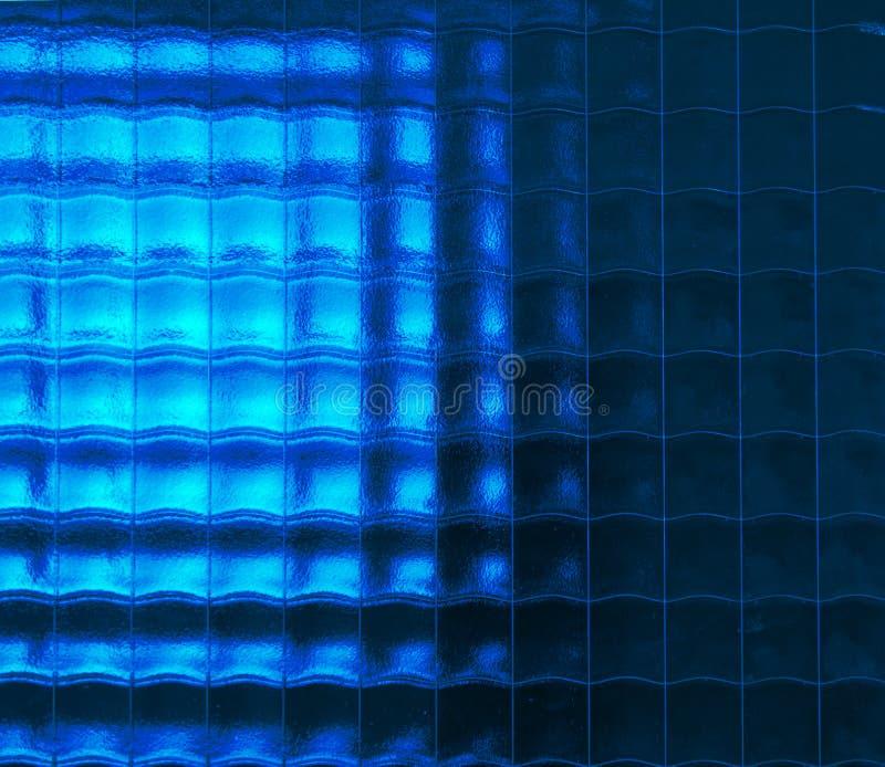 De textuur van het glas stock fotografie