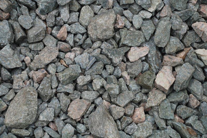 De textuur van het grint stock fotografie