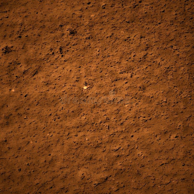 De textuur van het grondvuil stock illustratie