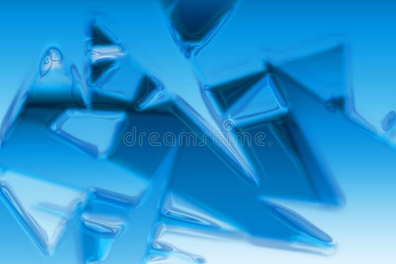 De textuur van het ijs royalty-vrije illustratie