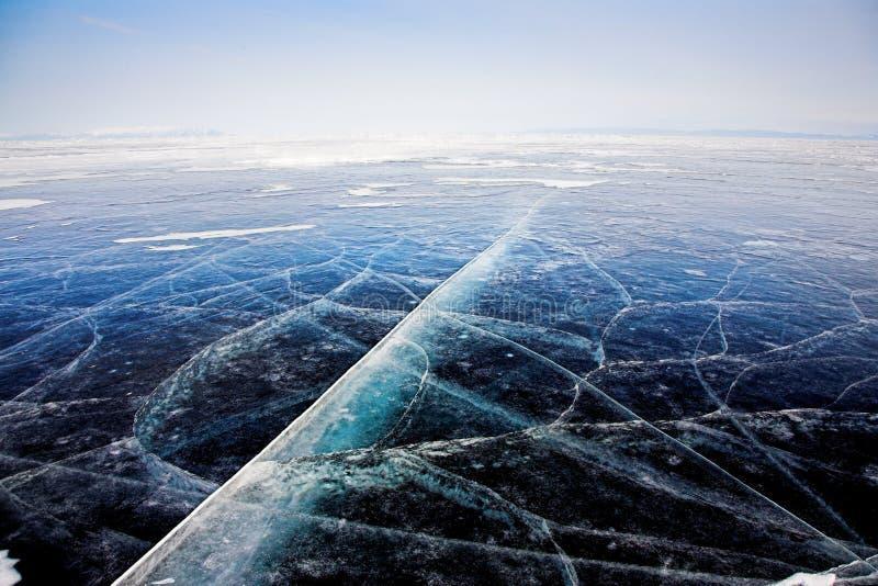 De textuur van het ijs royalty-vrije stock foto's