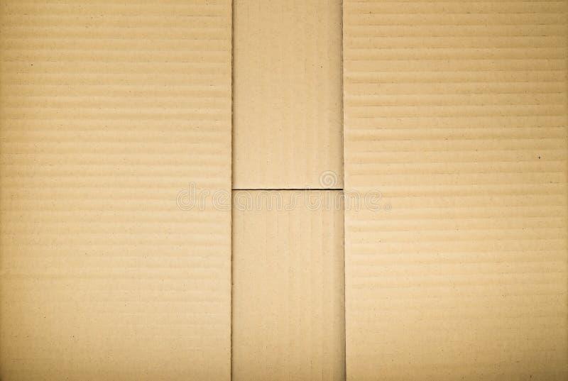 De textuur van het karton royalty-vrije stock afbeelding