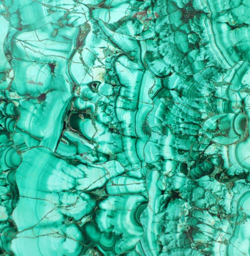 De textuur van het malachiet royalty-vrije stock afbeeldingen