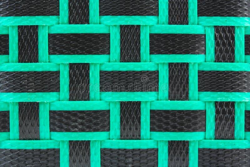 De textuur van het mandweefsel stock fotografie
