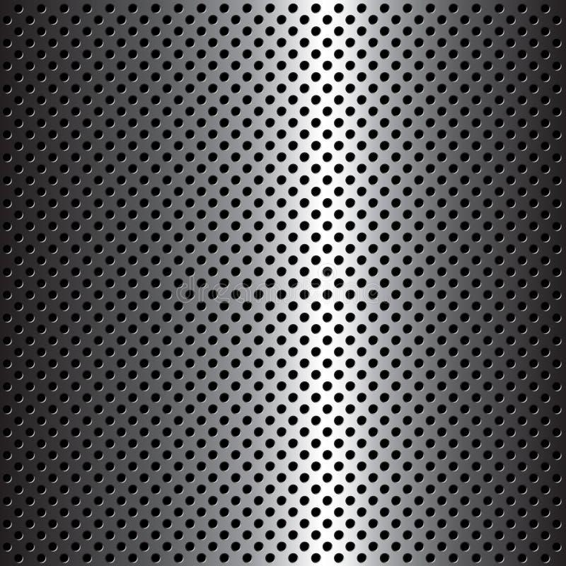 Download De textuur van het metaal vector illustratie. Afbeelding bestaande uit vector - 9202539