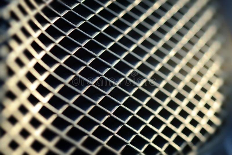 De Textuur van het metaalnet stock foto's