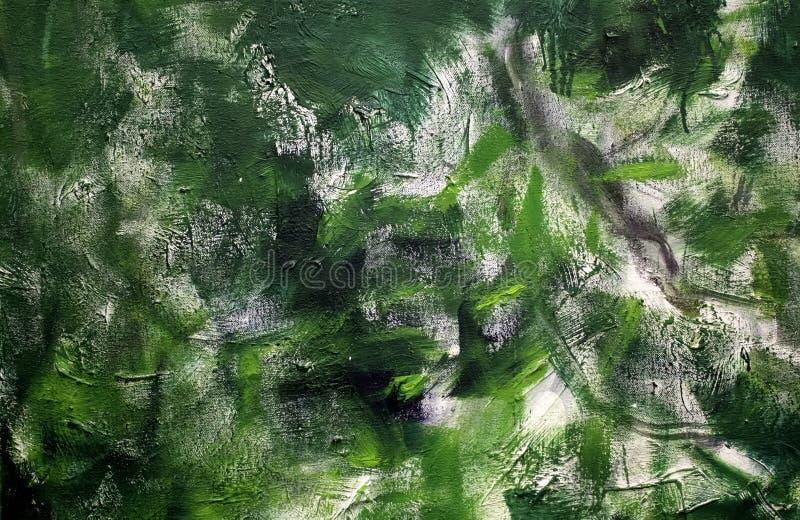 De textuur van het olieverfschilderij stock foto