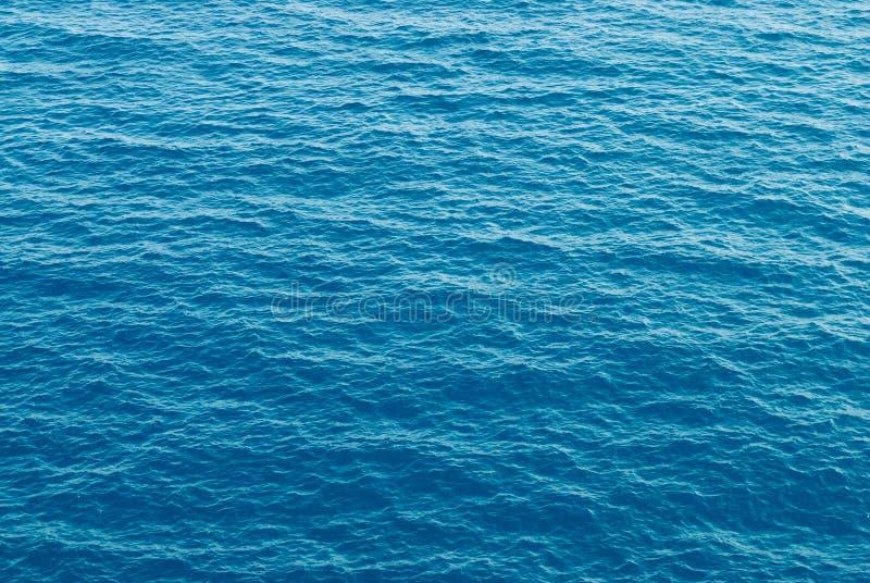 De textuur van het overzees waterpatroon royalty-vrije stock foto