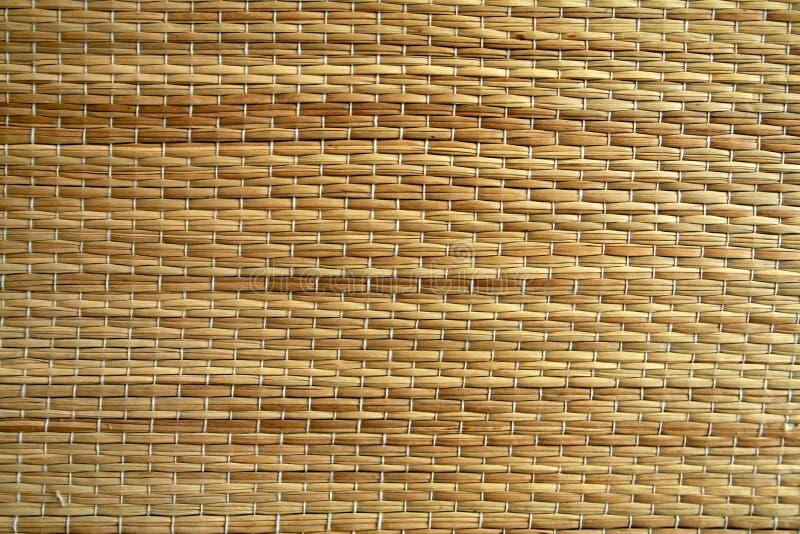 De textuur van het stro stock foto