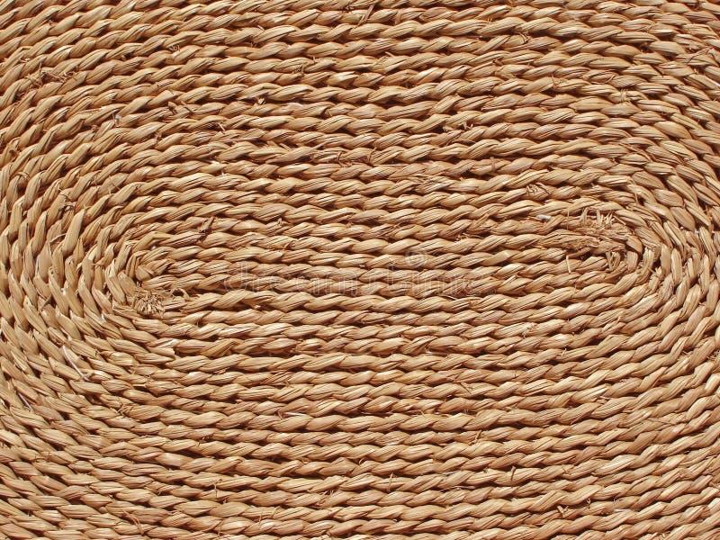 De textuur van het stro stock afbeeldingen