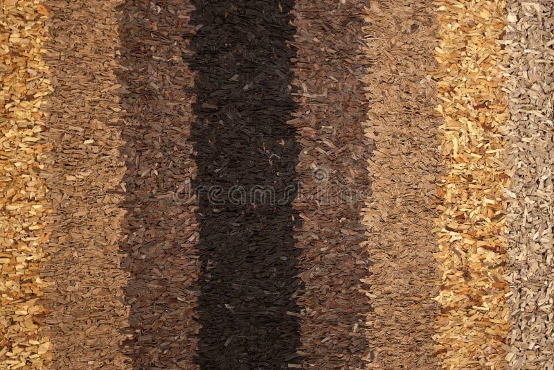 De textuur van het tapijt die van kleine leerstukken wordt gemaakt stock afbeeldingen