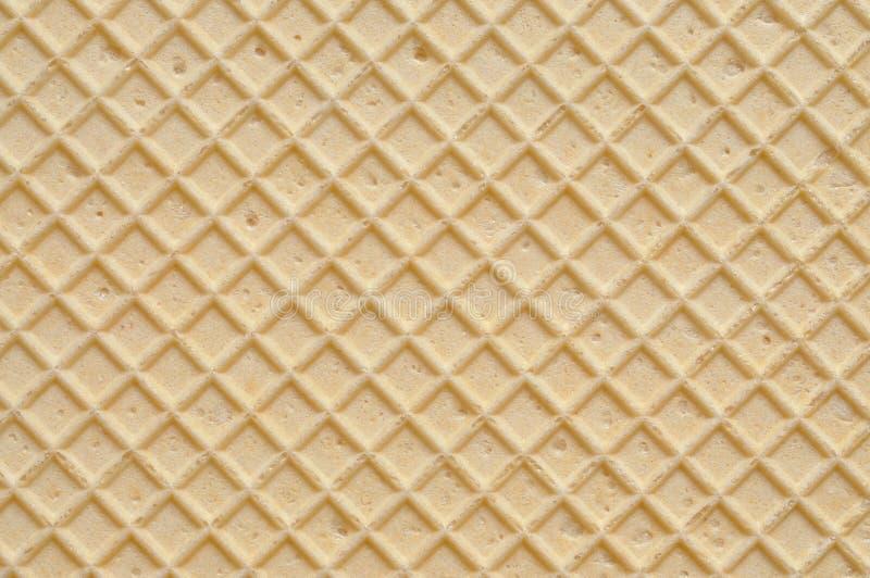 De Textuur van het wafeltje stock fotografie