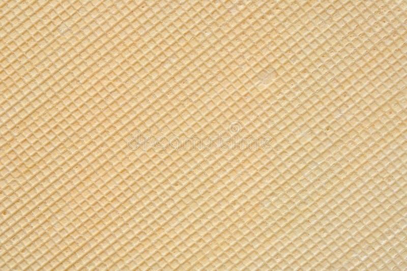 De Textuur van het wafeltje royalty-vrije stock foto