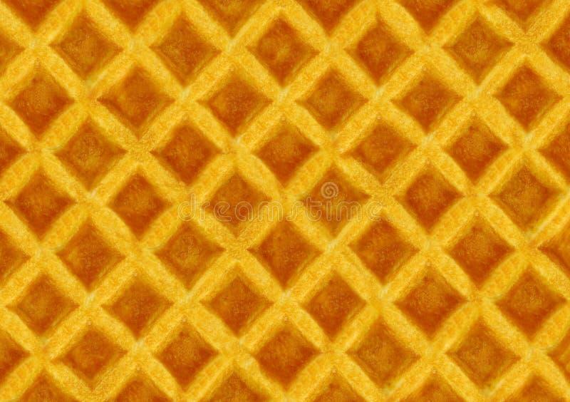 De textuur van het wafeltje stock foto's