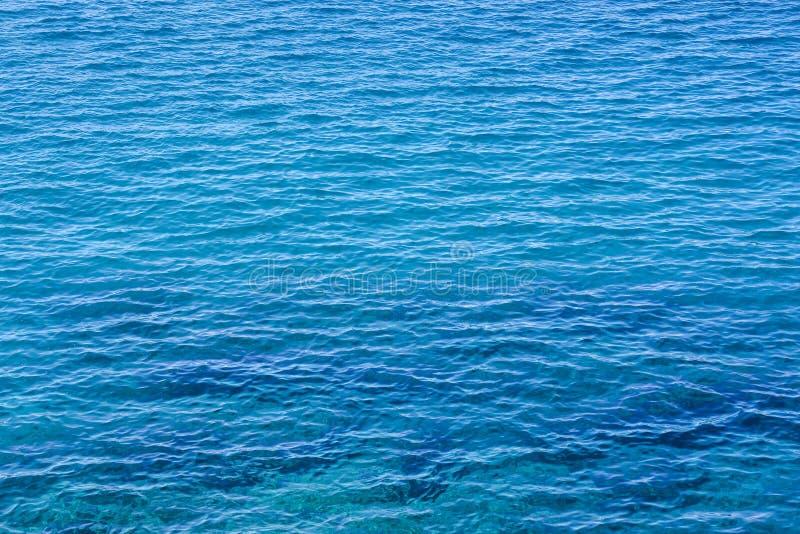De Textuur van het waterpatroon royalty-vrije stock fotografie