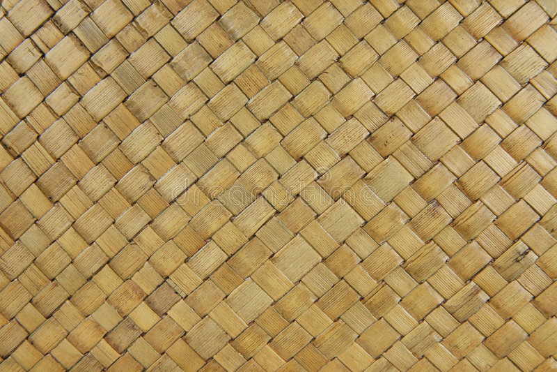 De Textuur van het Weefsel van de mand royalty-vrije stock fotografie