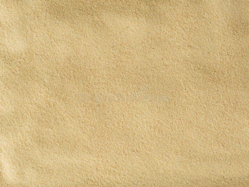 De Textuur van het zand stock afbeelding
