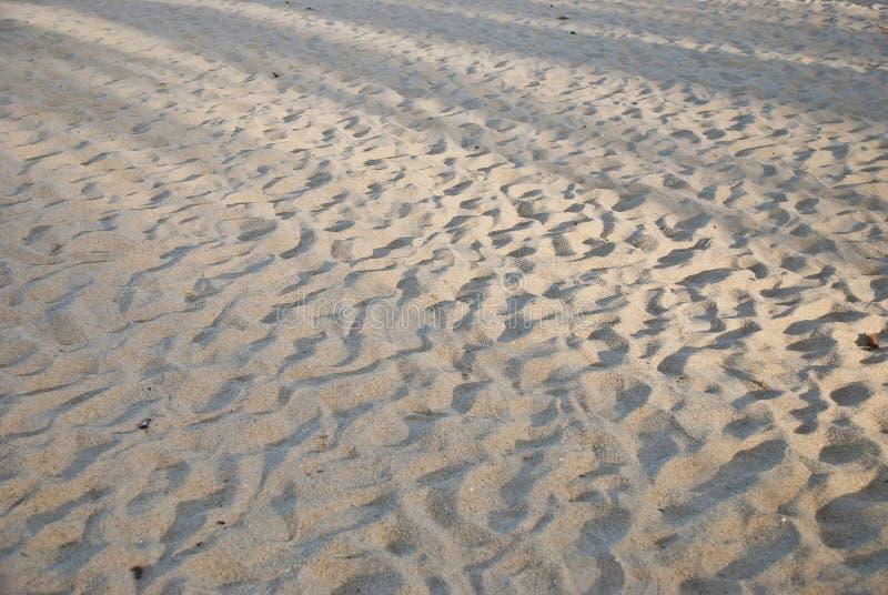 De Textuur van het Zand van het strand royalty-vrije stock foto