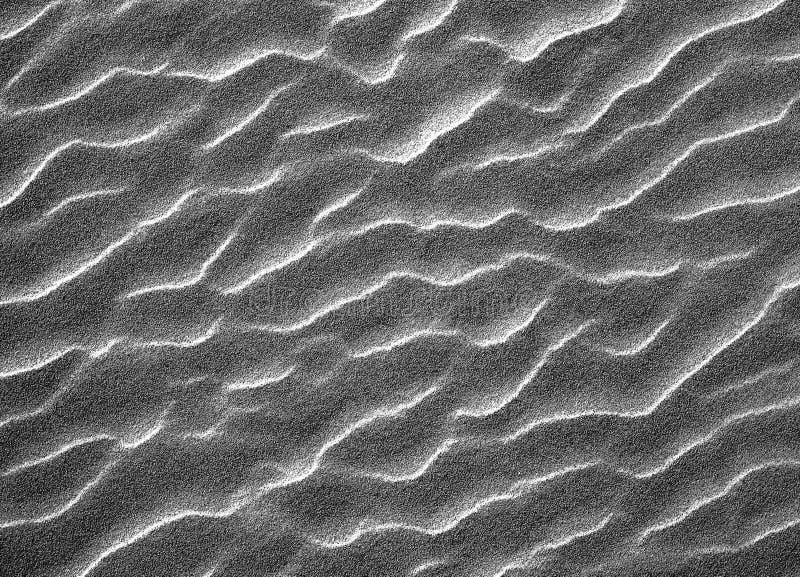 De textuur van het zandpatroon stock afbeelding