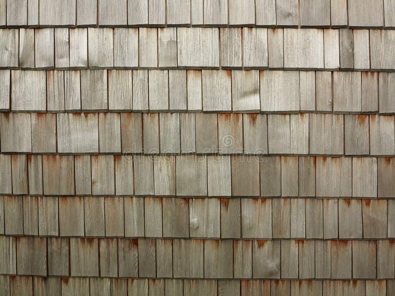 De textuur van houtdakspanen stock foto's