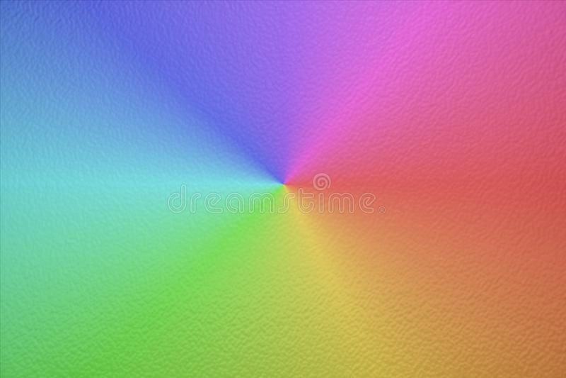 De textuur van de Rainblow Kleurrijk folie glanzend licht glas als achtergrond Whi stock fotografie