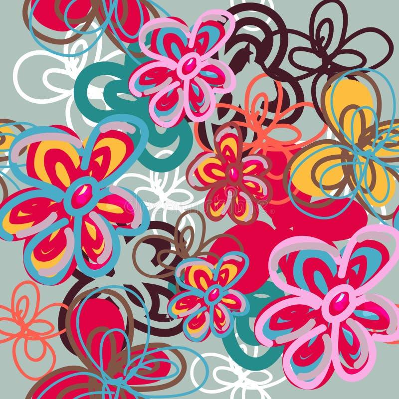 De textuur van rozen vector illustratie
