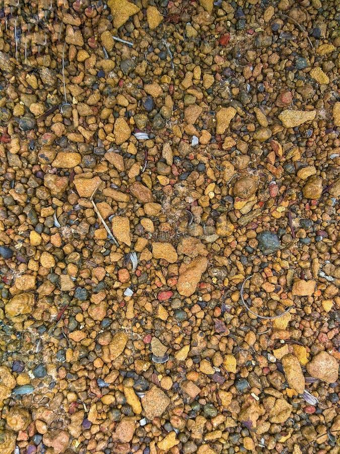 De textuur van de steengrond vector illustratie