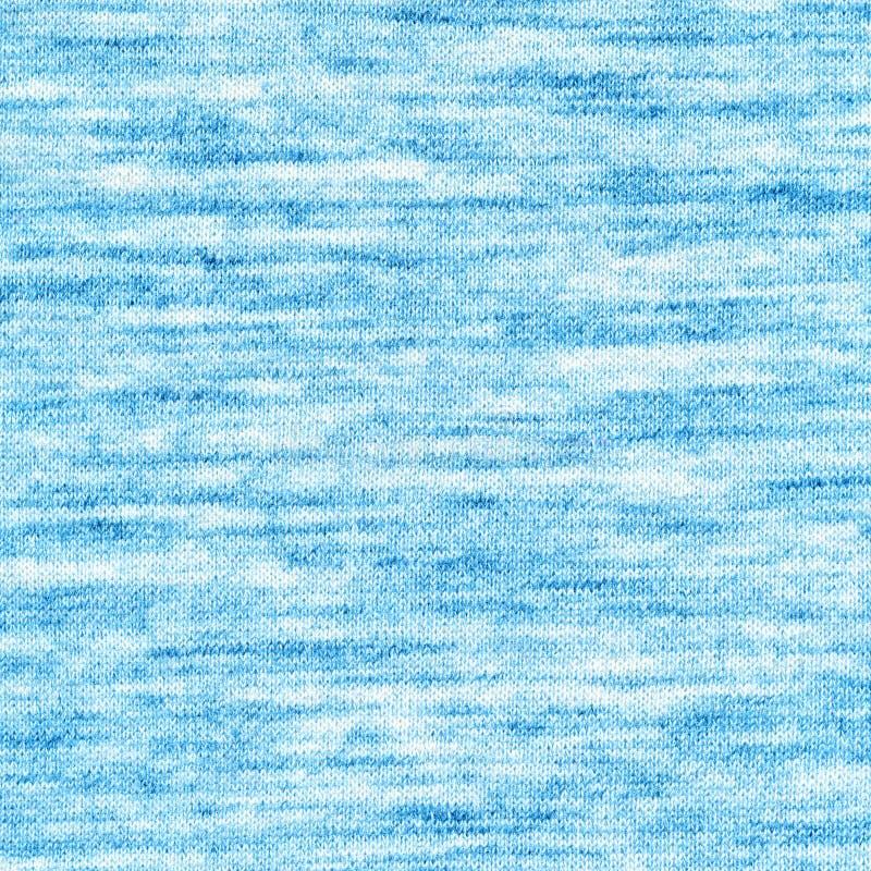 De Textuur van de stof Melange lichtblauwe kleurenachtergrond royalty-vrije stock afbeelding
