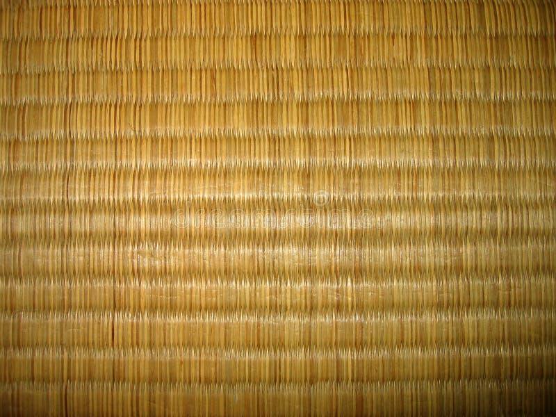 De textuur van Tatami royalty-vrije stock afbeelding