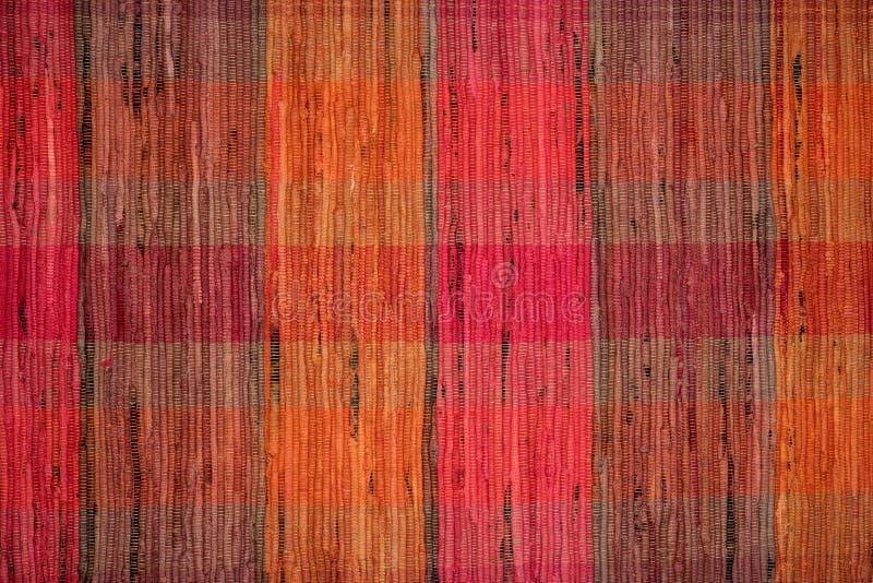 De textuur van de voddendeken, uitstekende textielachtergrond royalty-vrije stock afbeelding