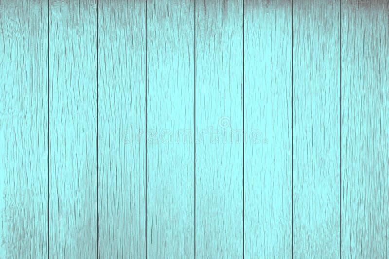 De textuur van Witte Blauwgroene houten plank kan gebruik voor achtergrond zijn De witte houten achtergrond is op hoogste mening  stock foto