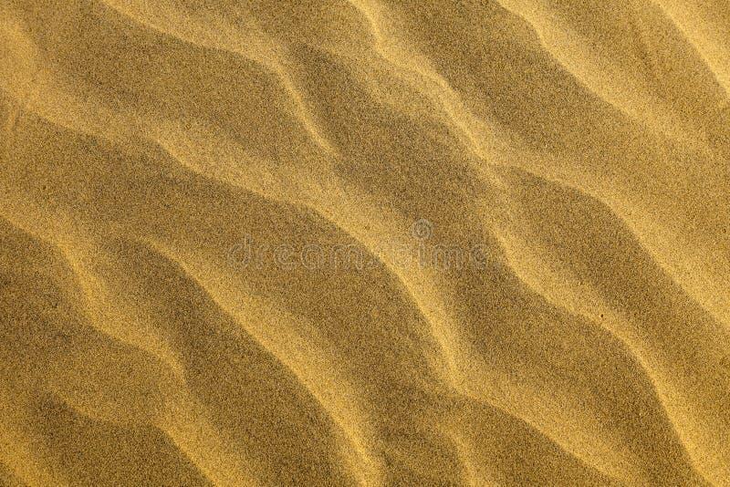De Textuur van de Woestijn van het zand royalty-vrije stock afbeelding