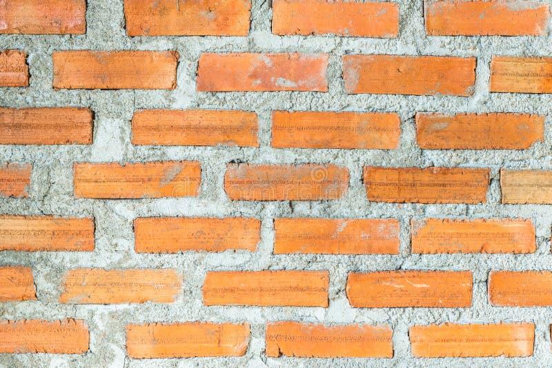 De textuurachtergrond van de bakstenen muurbouw stock foto